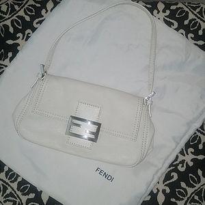 Authentic Vintage white Fendi bag